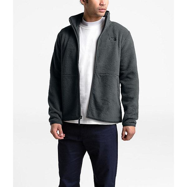 ノースフェイス メンズ ジャケット&ブルゾン アウター The North Face Men's Dunraven Sherpa Full Zip Jacket Asphalt Grey