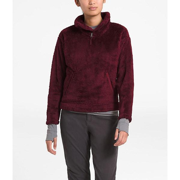 ノースフェイス レディース ジャケット&ブルゾン アウター The North Face Women's Furry Fleece Pullover Deep Garnet Red