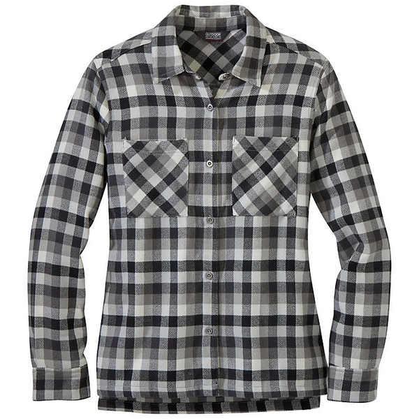 アウトドアリサーチ レディース シャツ トップス Outdoor Research Women's Feedback Flannel Shirt Storm Plaid