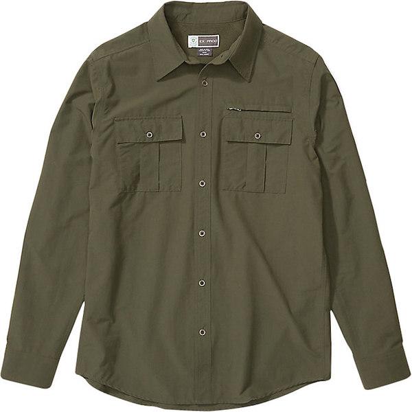 エクスオフィシオ メンズ シャツ トップス ExOfficio Men's BugsAway Arcan LS Shirt Nori