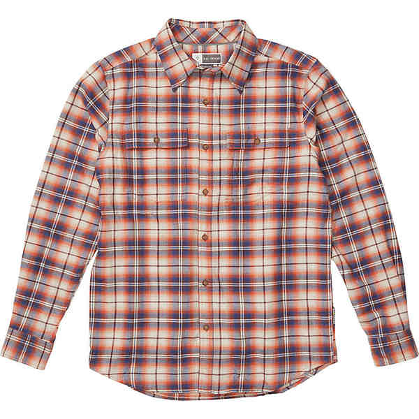 エクスオフィシオ メンズ シャツ トップス ExOfficio Men's BugsAway Redding Midweight Flannel LS Shirt Gold Flame