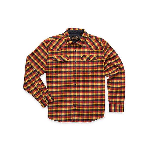 ハウラーブラザーズ メンズ シャツ トップス Howler Brothers Men's Stockman Stretch Snapshirt Mellow Gold