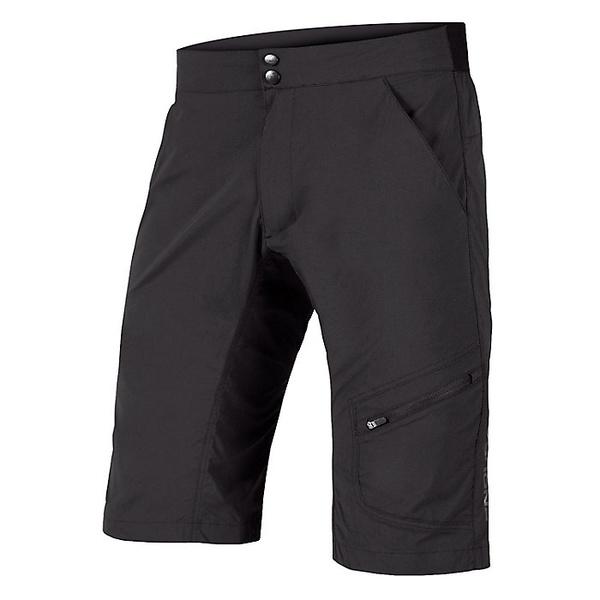 エンデュラ メンズ ハーフ&ショーツ ボトムス Endura Men's Hummvee Lite Short with Liner Black