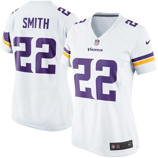 ナイキ レディース シャツ トップス Harrison Smith Minnesota Vikings Nike Women's Game Jersey White