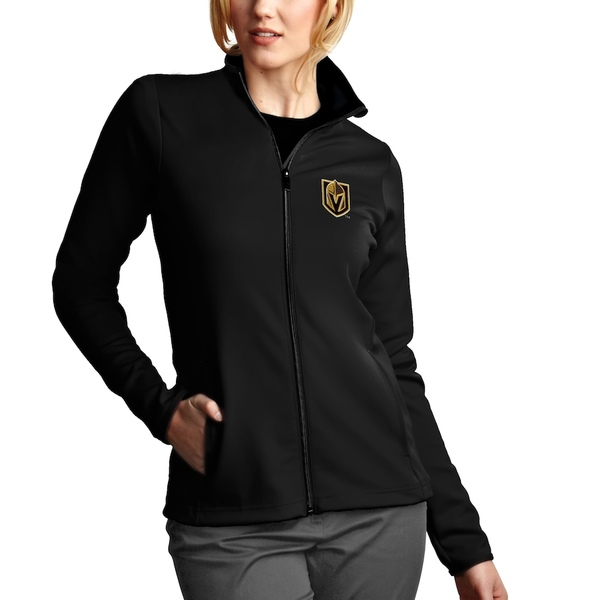 アンティグア レディース ジャケット&ブルゾン アウター Vegas Golden Knights Antigua Women's Leader Jacket Black