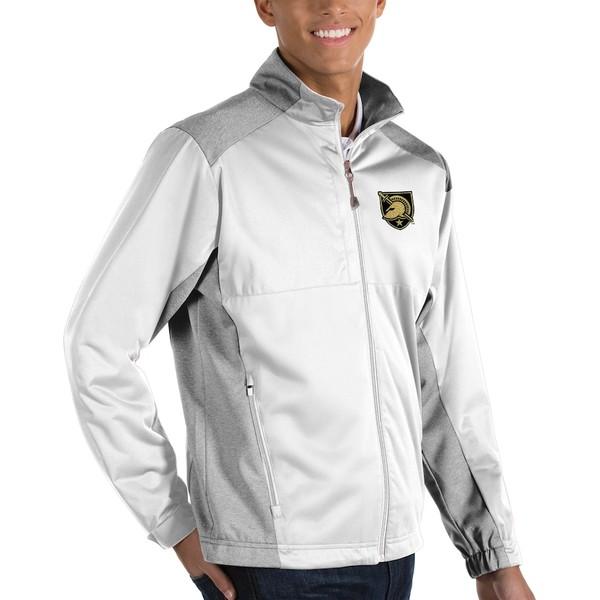 アンティグア メンズ ジャケット&ブルゾン アウター Army Black Knights Antigua Revolve Full-Zip Jacket White