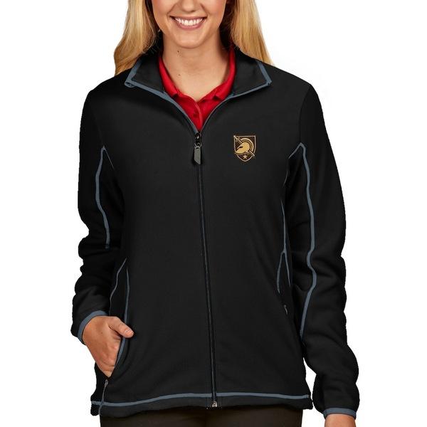 アンティグア レディース ジャケット&ブルゾン アウター Army Black Knights Antigua Women's Ice Full-Zip Jacket Black