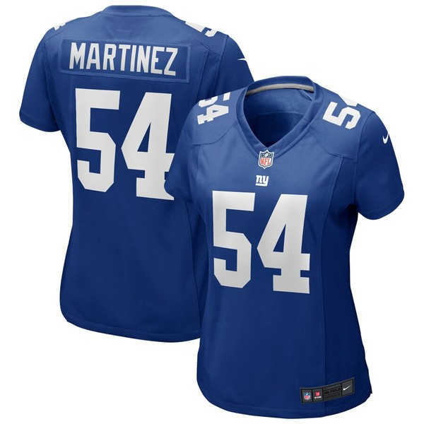 ナイキ レディース シャツ トップス Blake Martinez New York Giants Nike Women's Game Player Jersey Royal