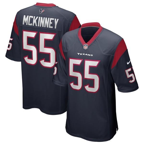 ナイキ メンズ シャツ トップス Benardrick McKinney Houston Texans Nike Game Jersey Navy