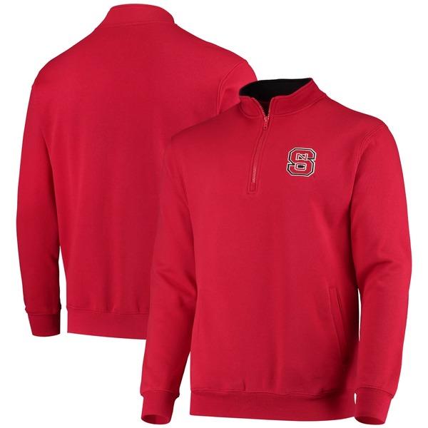 コロシアム メンズ ジャケット&ブルゾン アウター NC State Wolfpack Colosseum Tortugas Logo QuarterZip Pullover Jacket Charcoal