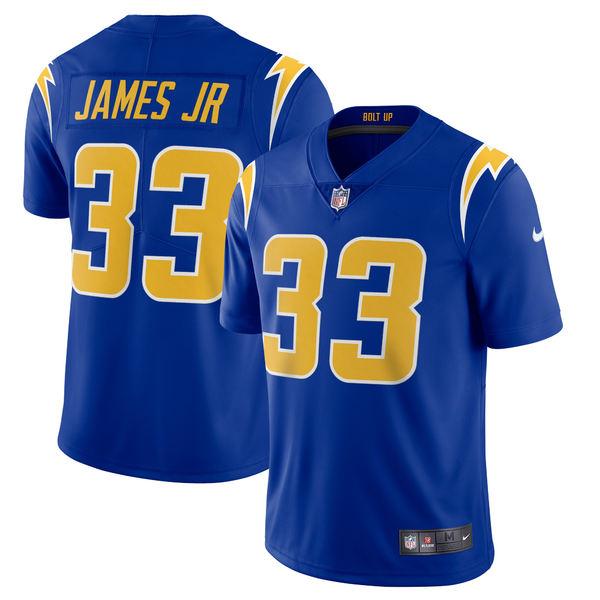 ナイキ メンズ ユニフォーム トップス Derwin James Los Angeles Chargers Nike 2nd Alternate Vapor Limited Jersey Royal