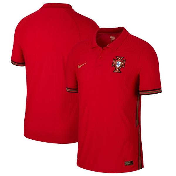 ナイキ メンズ ユニフォーム トップス Portugal National Team Nike 2020/21 Home Vapor Match Authentic Jersey Red