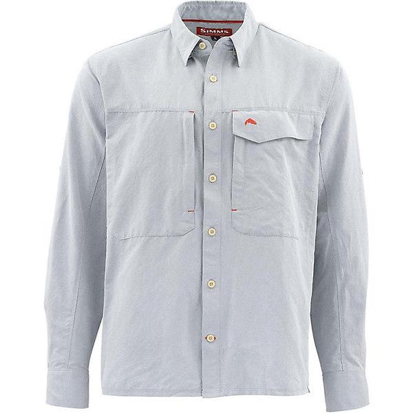 シムズ メンズ シャツ トップス Simms Men's Guide LS Shirt Dark Slate
