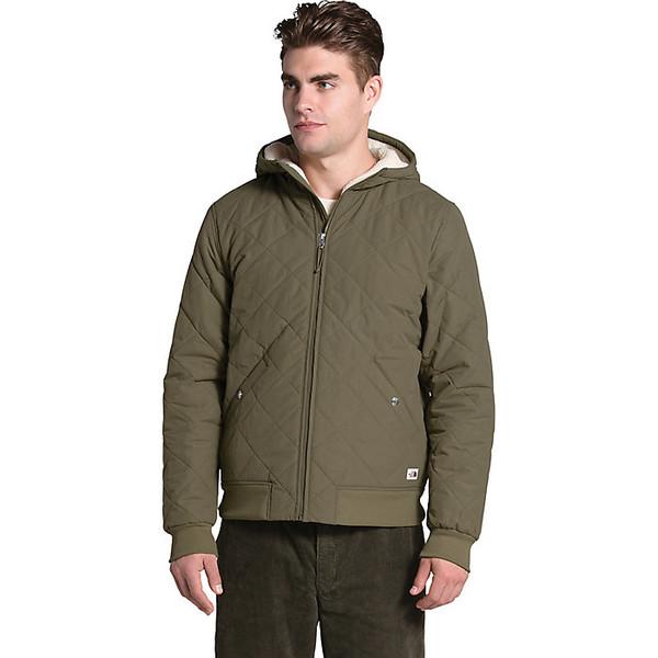 ノースフェイス メンズ ジャケット&ブルゾン アウター The North Face Men's Cuchillo Insulated Full Zip Hoodie Burnt Olive Green