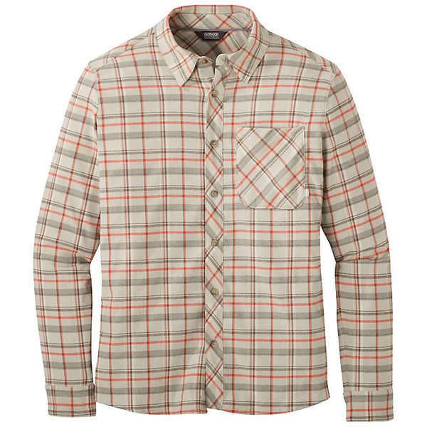 アウトドアリサーチ メンズ シャツ トップス Outdoor Research Men's Kulshan Flannel Shirt Smoke