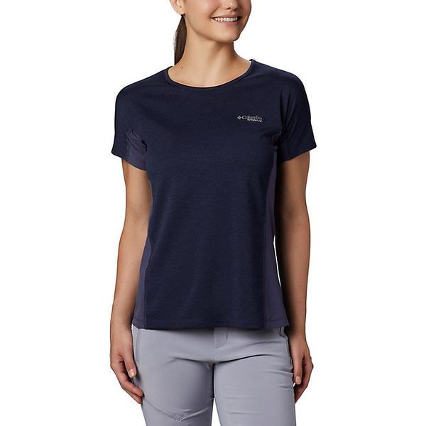 コロンビア レディース シャツ トップス Columbia Women's Irico Knit SS Shirt Nocturnal