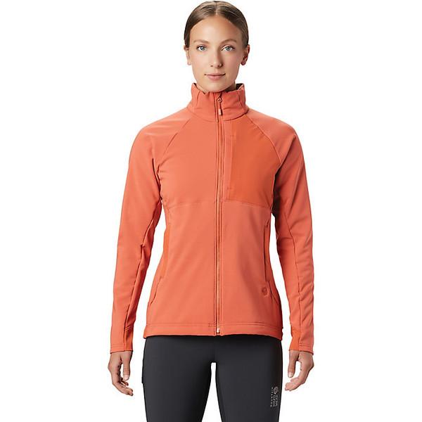 マウンテンハードウェア レディース ジャケット&ブルゾン アウター Mountain Hardwear Women's Keele Full Zip Jacket Dark Clay
