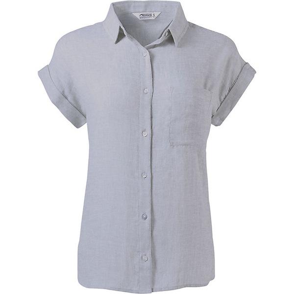マウンテンカーキス レディース シャツ トップス Mountain Khakis Women's Oasis SS Shirt Smoke