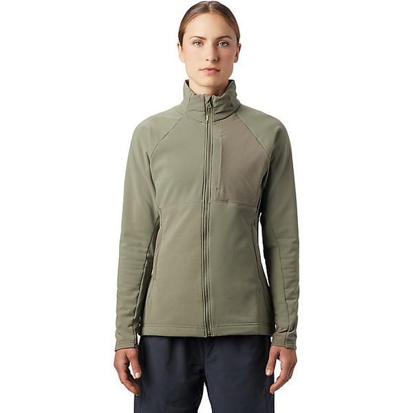 マウンテンハードウェア レディース ジャケット&ブルゾン アウター Mountain Hardwear Women's Keele Full Zip Jacket Light Army