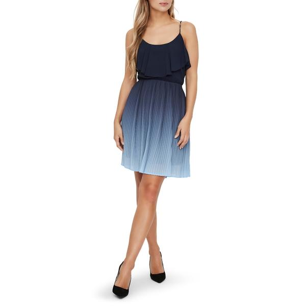 ヴェロモーダ レディース ワンピース トップス Luna Minidress Placid Blue
