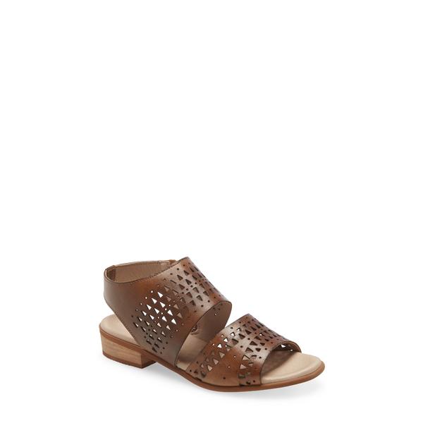 ボスアンドコー レディース サンダル シューズ Mylo Sandal Medium Brown Leather