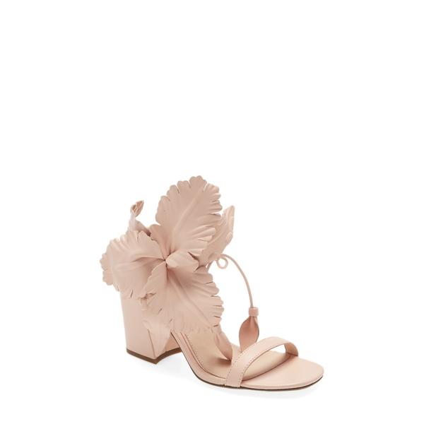 セセリアニューヨーク レディース サンダル シューズ Hibiscus Sandal Pale Pink Leather