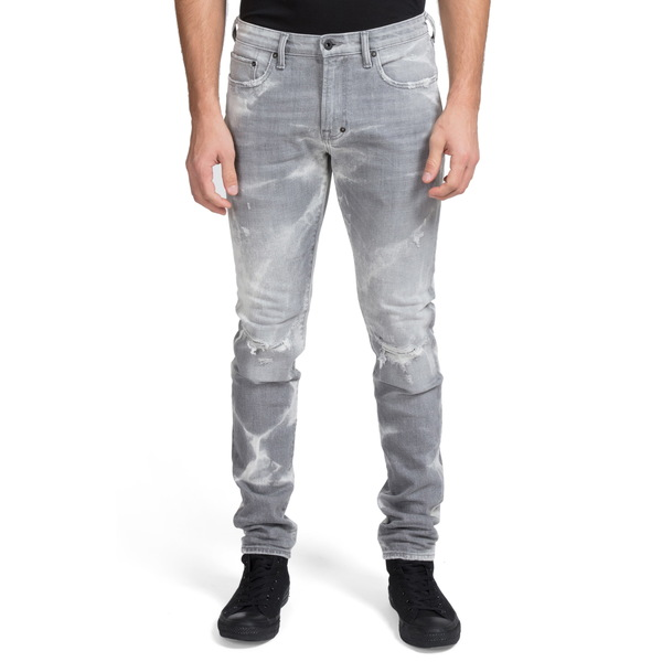 PRPS メンズ デニムパンツ ボトムス Windsor Ripped Extra Slim Fit Jeans Joplin