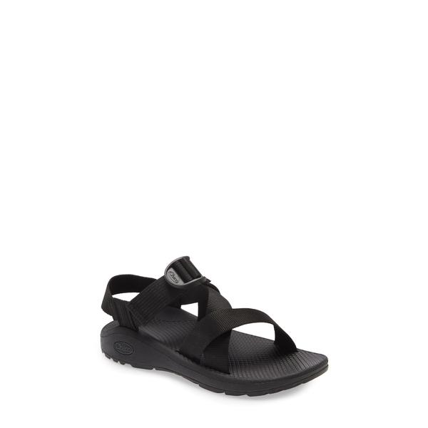 チャコ レディース サンダル シューズ Mega Z/Cloud Sport Sandal Solid Black Fabric