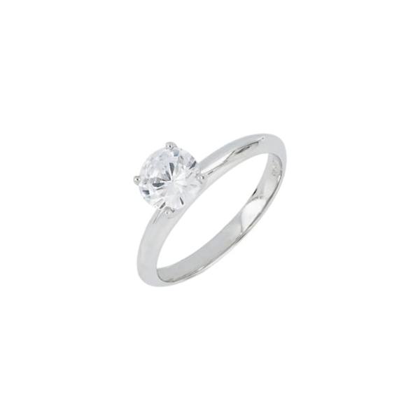ボニー レヴィ レディース リング アクセサリー Solitaire Engagement Ring Setting White Gold
