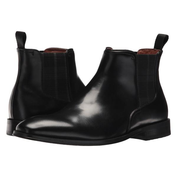 フローシャイム メンズ ブーツ&レインブーツ シューズ Belfast Plain Toe Gore Boot Black Smooth