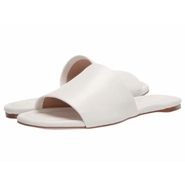 マッシモマッテエロ レディース サンダル シューズ Leather Slide Sandal White