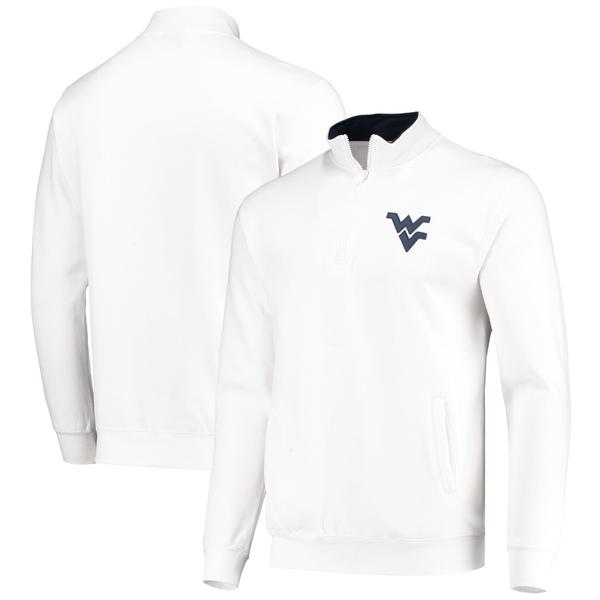 コロシアム メンズ ジャケット&ブルゾン アウター West Virginia Mountaineers Colosseum Tortugas Logo QuarterZip Jacket Black