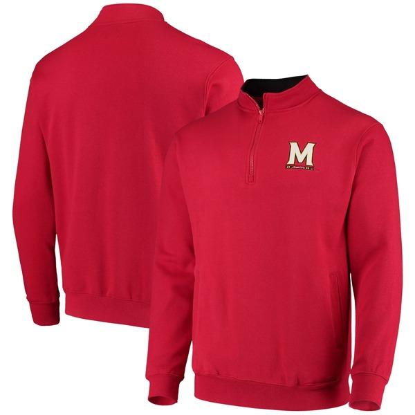 コロシアム メンズ ジャケット&ブルゾン アウター Maryland Terrapins Colosseum Tortugas Logo QuarterZip Jacket Black