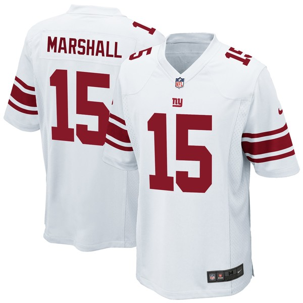 ナイキ メンズ ユニフォーム トップス Brandon Marshall New York Giants Nike Game Jersey Royal