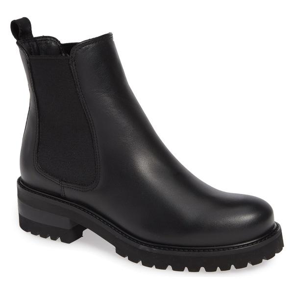 ラカナディアン レディース ブーツ&レインブーツ シューズ La Canadienne Connor Waterproof Boot (Women) Black Leather