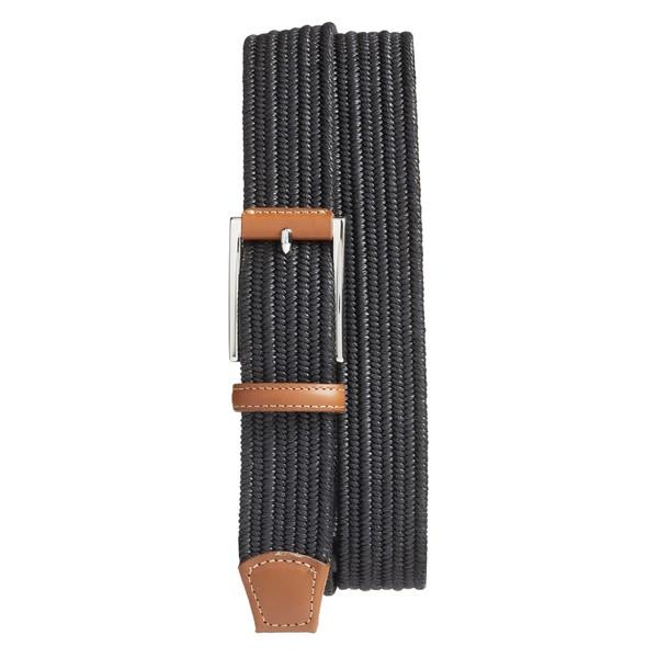 トリノ メンズ ベルト アクセサリー Torino Woven Belt Black