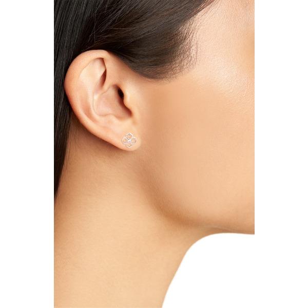 Kendra Scott Rue Stud Earrings In Rose Gold NEW