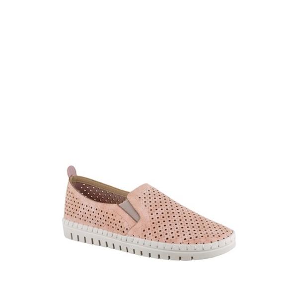 イージーストリート レディース シューズ スニーカー BLUSH 全商品無料サイズ交換 (人気激安) Fresh - Slip-On Available キャンペーンもお見逃しなく Widths Perforated Sandal Multiple