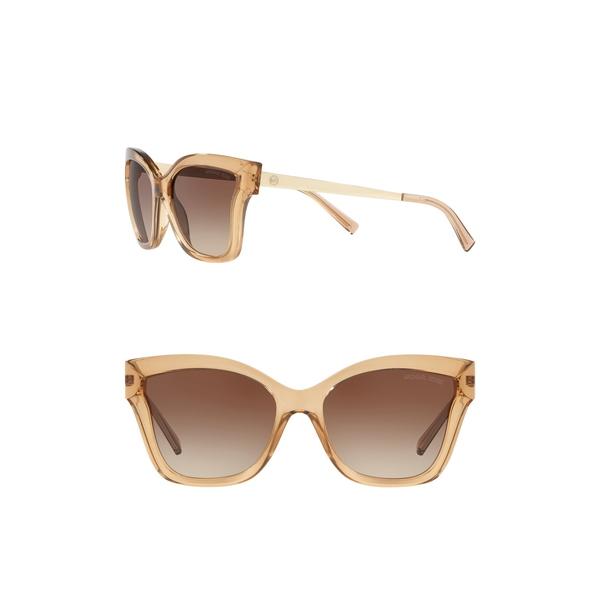 マイケルコース レディース アクセサリー 格安SALEスタート サングラス アイウェア LITE 56mm Barbados Square 全商品無料サイズ交換 大好評です Sunglasses BRN