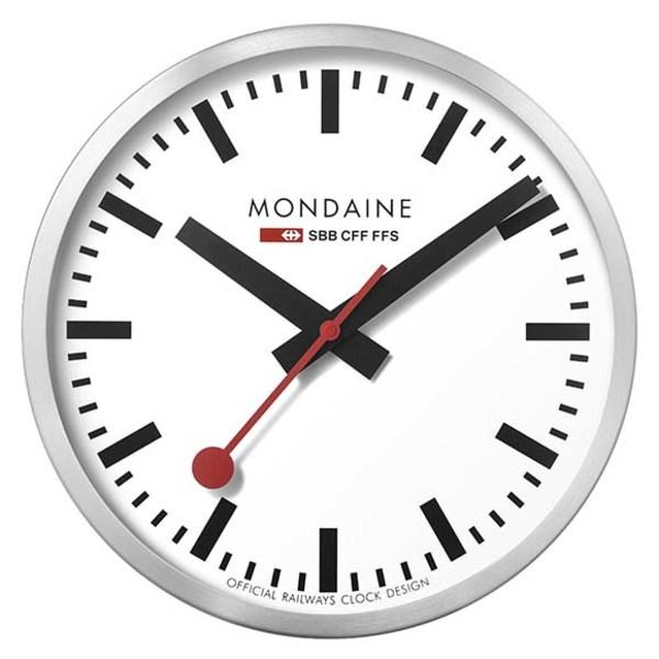 モンダイン メンズ 腕時計 アクセサリー Mondaine Wall Clock Large qmnx00e4