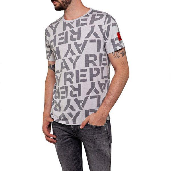 リプレイ メンズ Tシャツ トップス Replay M3029 qmnx00e6