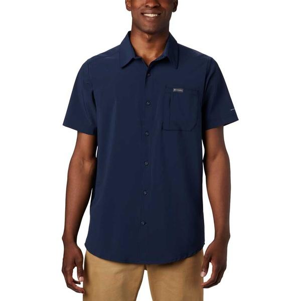 コロンビア メンズ ポロシャツ トップス Columbia Triple Canyon Solid qmnx00e6