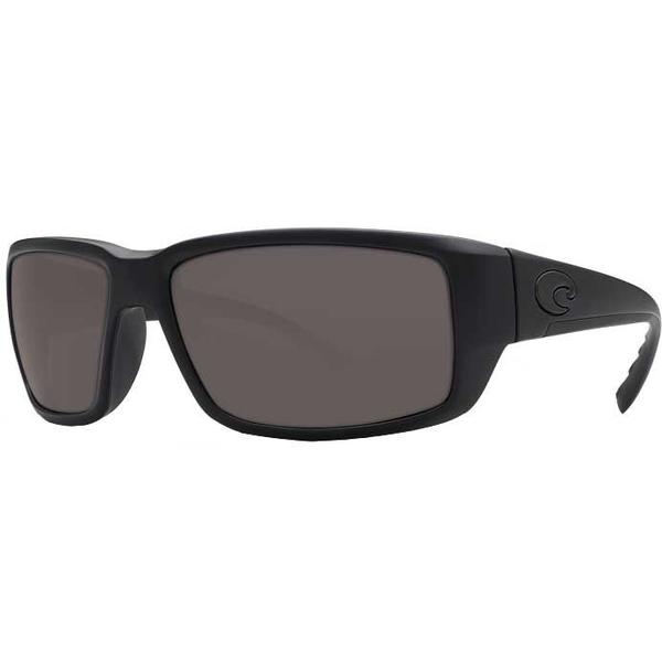 コスタデルマール メンズ サングラス・アイウェア アクセサリー Costa Del Mar Fantail 580G Polarized Sunglasses Blackout/Gray