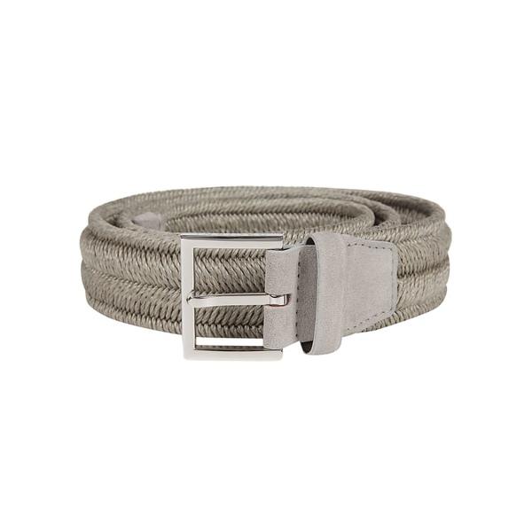 オルチアーニ メンズ ベルト アクセサリー Orciani Rope Belt Perla