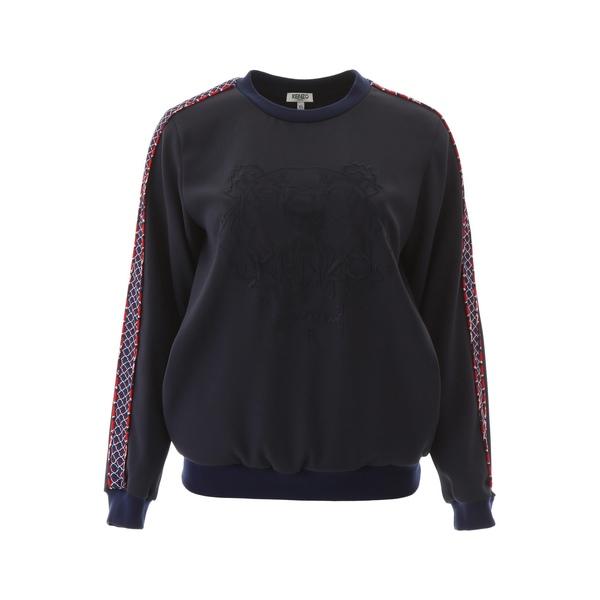 レディース ニット&セーター Logo Kenzo Tiger Fishnet - アウター ケンゾー Sweater