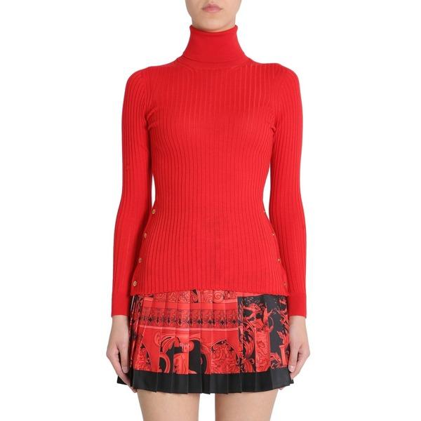- ヴェルサーチ ニット&セーター Turtleneck アウター レディース Sweater Versace
