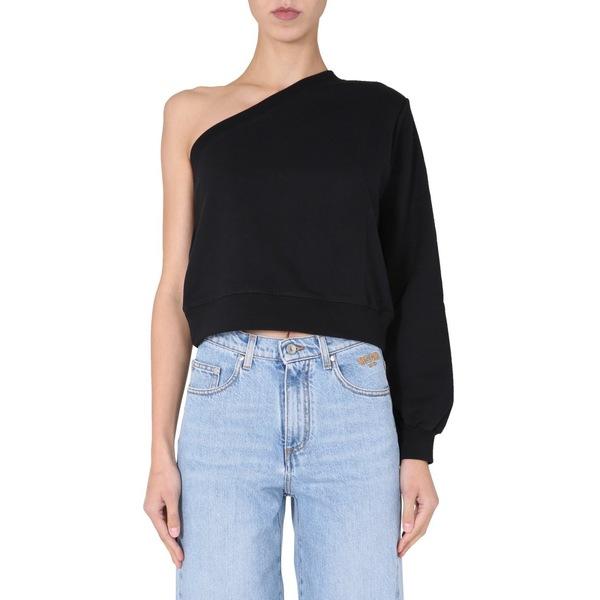 One Sweatshirt ニット&セーター MSGM Shoulder アウター レディース エムエスジイエム -