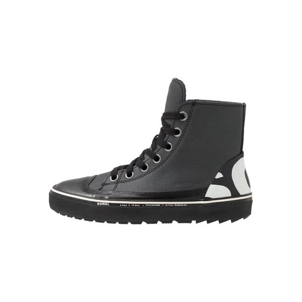 プレゼント ソレル メンズ シューズ 買収 スニーカー black 全商品無料サイズ交換 CHEYANNE qnel020e High-top - trainers