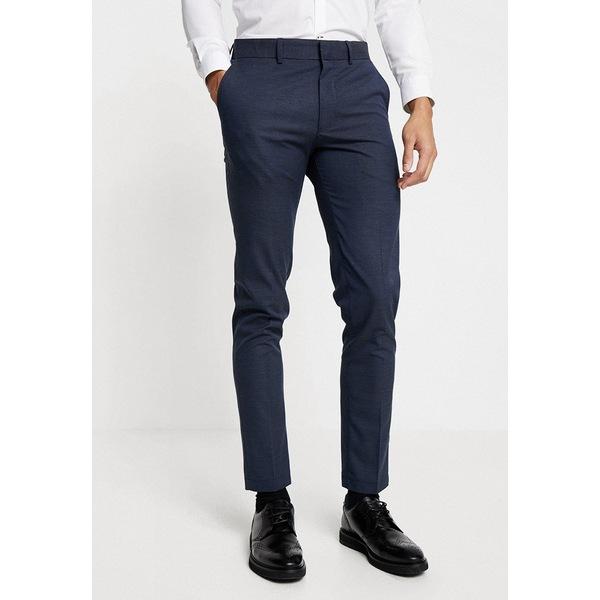セレクテッドオム NEW メンズ ボトムス カジュアルパンツ dark blue 全商品無料サイズ交換 通販 激安 MATHNOHR - TROUSER Trousers SLHSLIM qnhb0083