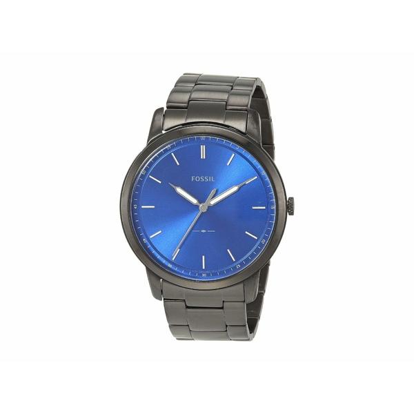 フォッシル メンズ 腕時計 アクセサリー Minimalist Three-Hand Watch FS5693 Black Stainless Steel
